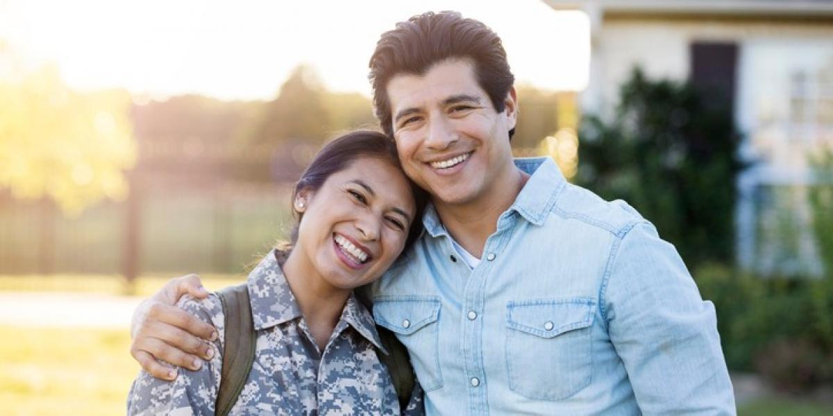 happy military spouse
