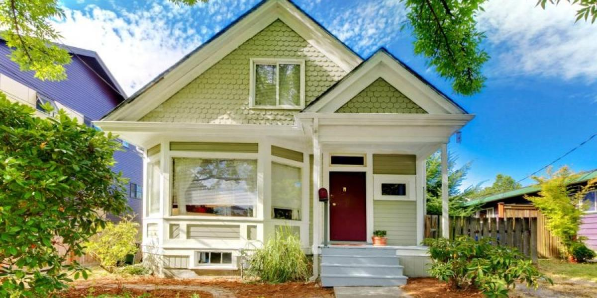 Exterior of home purchased with va home loan after getting certificate of eligibility