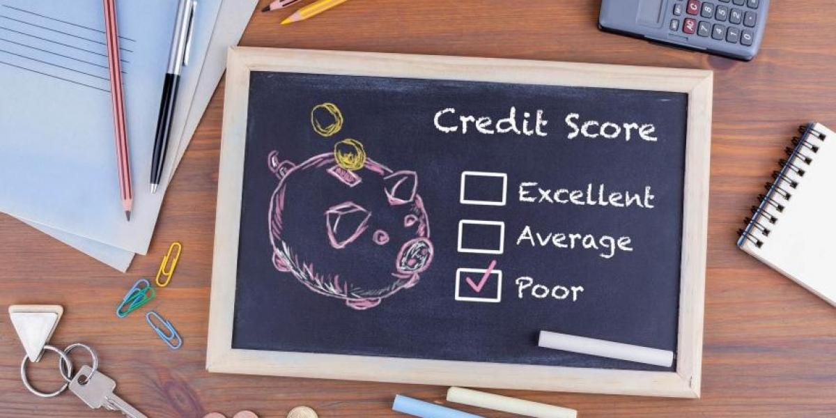 poor credit score of a sposue