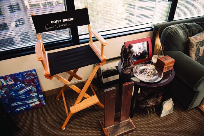 Gary Sinise Director's Chair
