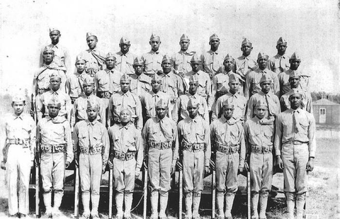 Montford Point Marines battled racism.