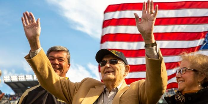 World War 2 Veteran Harvey