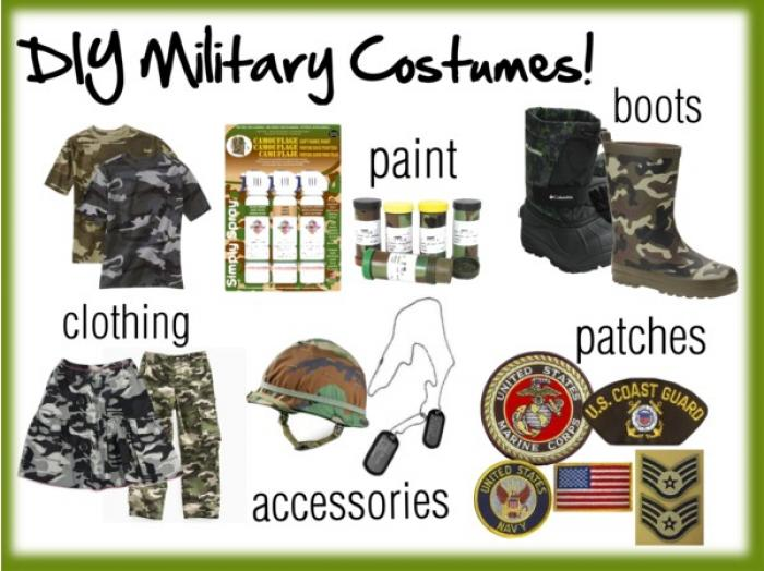 Making your own military inspired costume