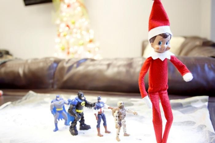 Marching Toys and an Elf