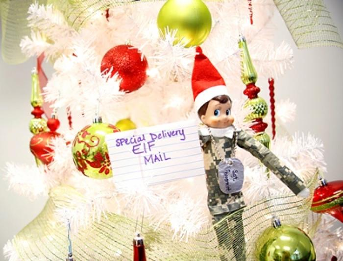 Deployment Letter from Elf on the Shelf