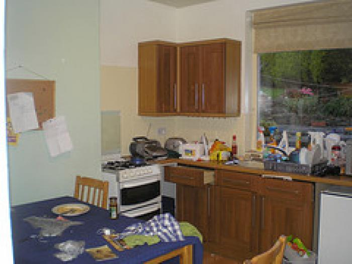 Have Sellers Clean Kitchen for Picture