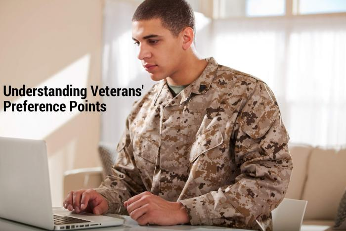 Understanding veteran preference points