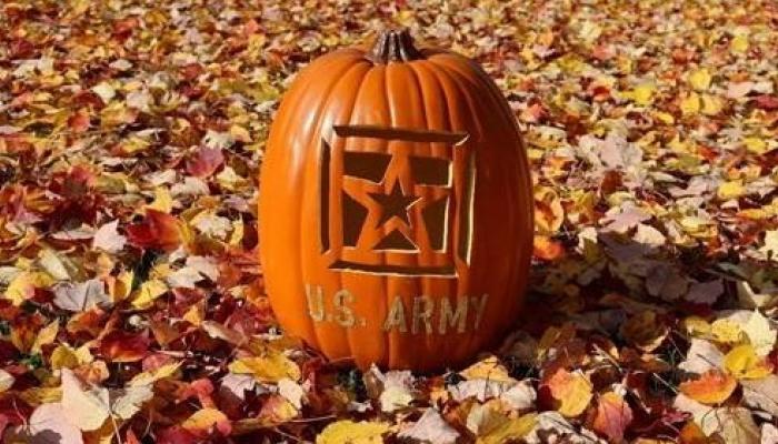 How To Carve A Military Themed Pumpkin Free Pumpkin Stencils