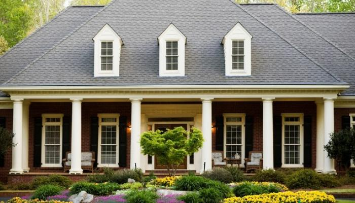 exterior of home purchased using the va home loan
