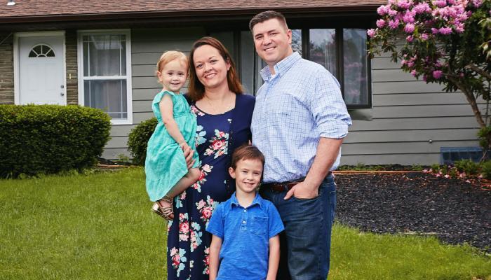 24 Millionth VA Loan Borrower and Family
