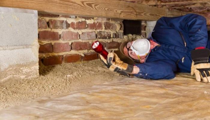 home inspection in-progress