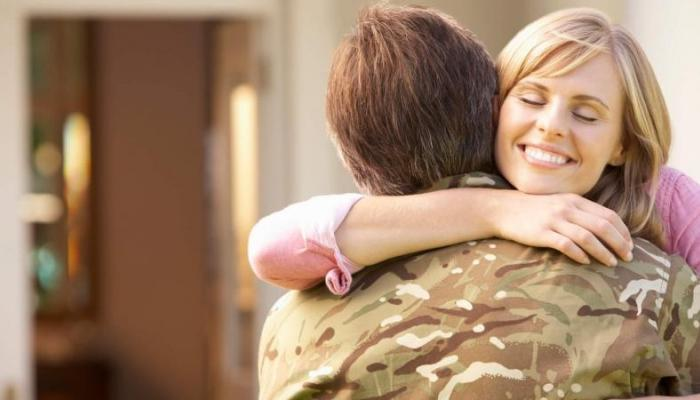 military spouses buying a home together