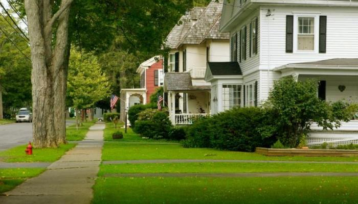 neighborhood illustrating minimum va home loan property requirements