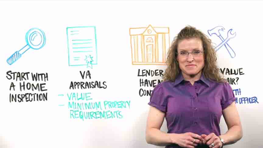 Female instructor standing in front of whiteboard