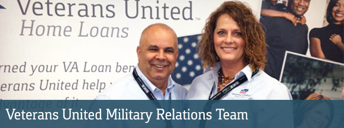Veterans United Military Relations Team